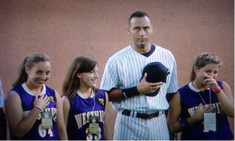 It Was Future Mrs. Jeter Night At The New Yankee Stadium