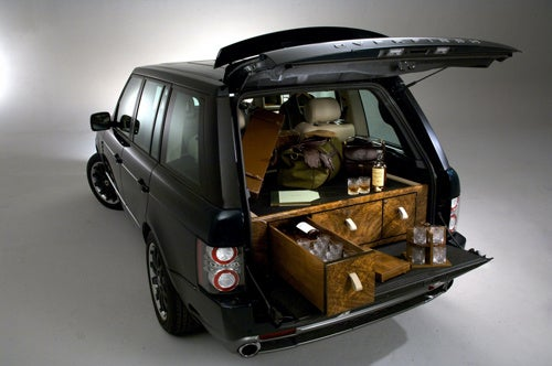 The Boozemobile: A Land Rover Outfitted With Guns, Spirits
