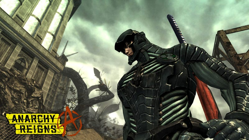 Meet Anarchy Reigns' Zero And His Two Stabby Friends