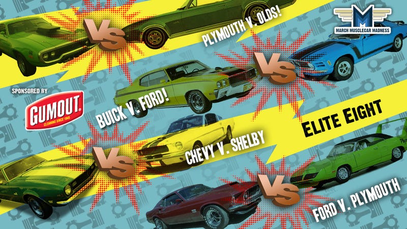 March Muscle Car Madness: The Elite Eight