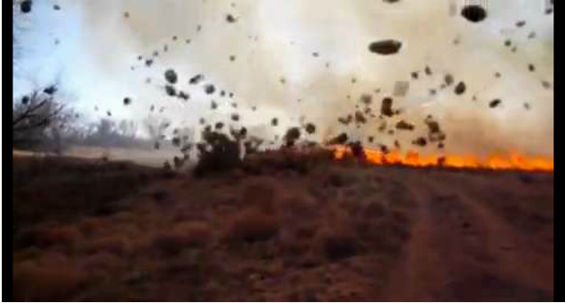 Check Out This Insane Fiery Dust Devil in Colorado