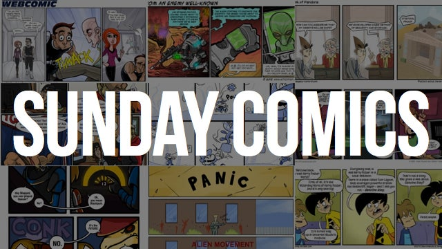Sunday Comics: Hit Me, Dealer.