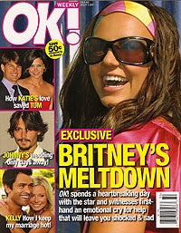 'OK!' Magazine And Britney Spears Give Us A Bad Case Of Blueballs