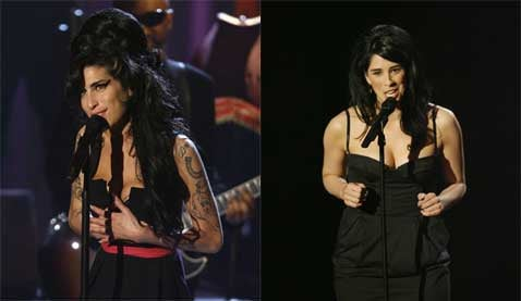 Amy Winehouse Vs. Sarah Silverman