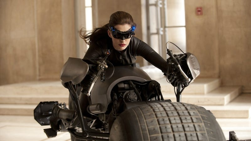 Here's What Anne Hathaway's Catwoman Looks Like in The Dark Knight Rises