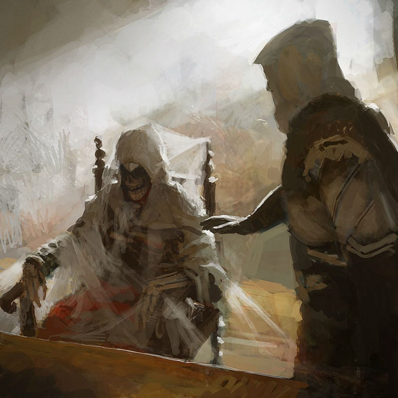 This Assassin's Creed Art is a Revelation