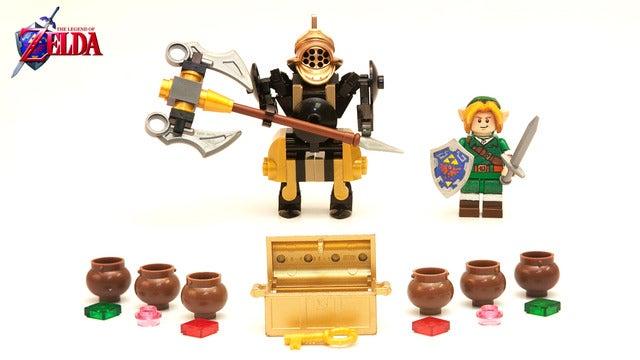 Help Make This Fantastic Zelda LEGO Set A Reality