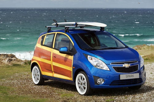 Cowabunga, Europe: The Chevy Spark Woodie Wagon