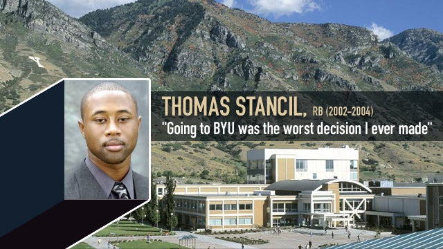 In His Own Words: Thomas Stancil, Running Back (2002-03)