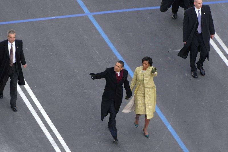 Barack Obama's Bulletproof Inaugural Suit