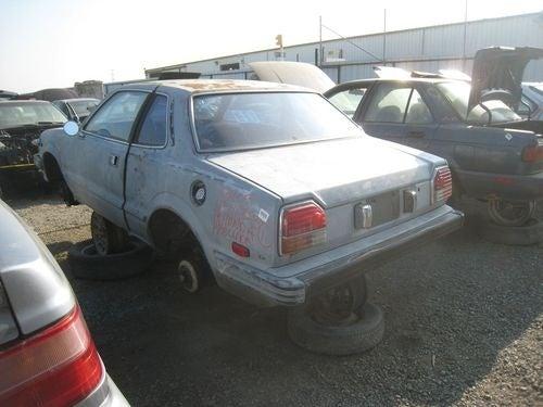 1979 Honda Prelude Down On The Junkyard