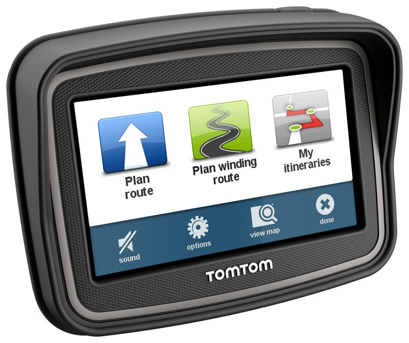 Here's a GPS for Bikers