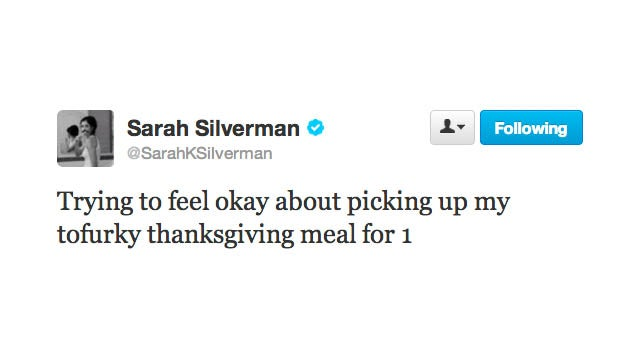 Please Invite Sarah Silverman Over for Thanksgiving Dinner