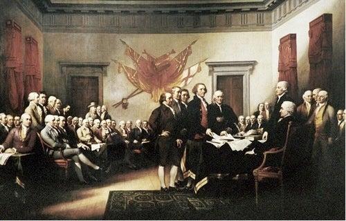 Thomas Jefferson's Declaration of Independence Whitewash
