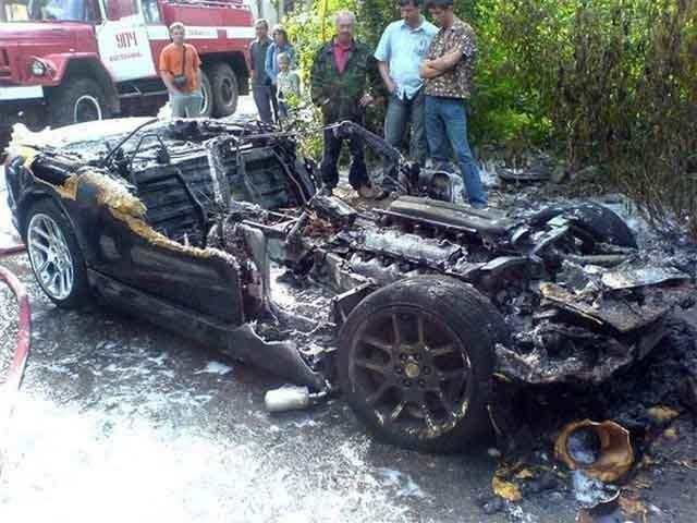 Dodge Viper Burned At The Stake... Again?