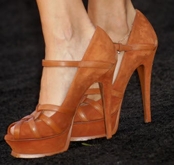 You Have To See These Shoes At This Premiere.