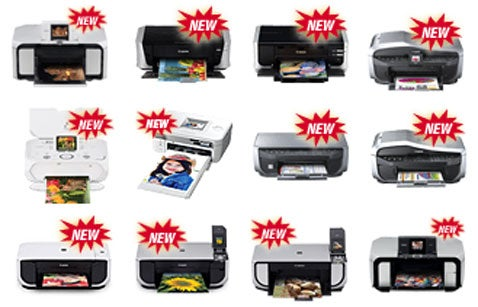Canon Launches 12 Printers, Only Needed To Launch 4