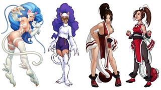 Sexy Fighting Game Characters, Redesigned