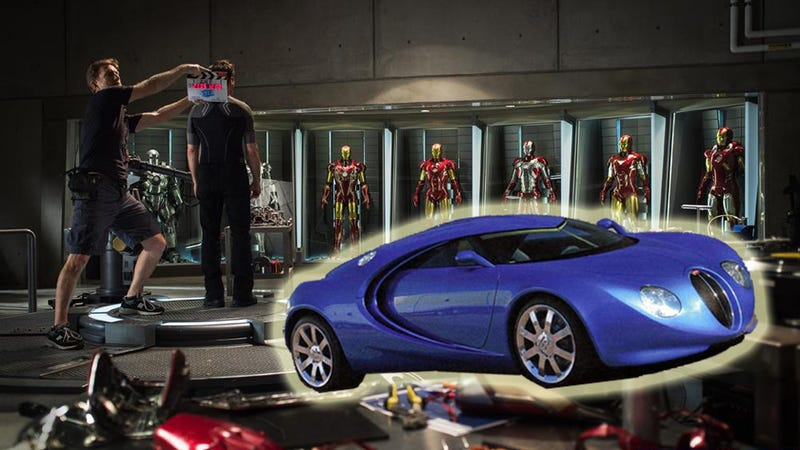 Is Tony Stark Driving A $2 Million Bugatti Veyron In Iron Man 3?