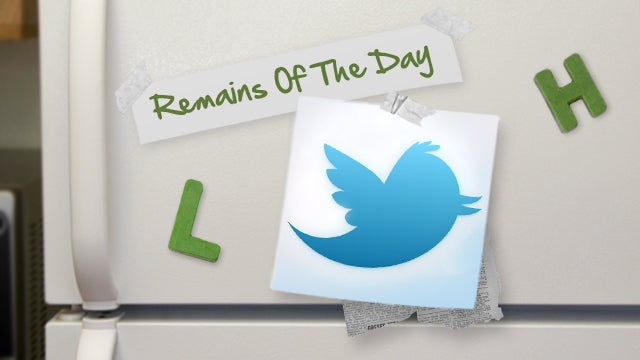 Remains of the Day: Twitter Makes Verified Profile Pages Less Cluttered