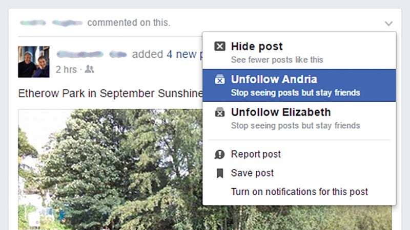 How to Control Your Facebook News Feed