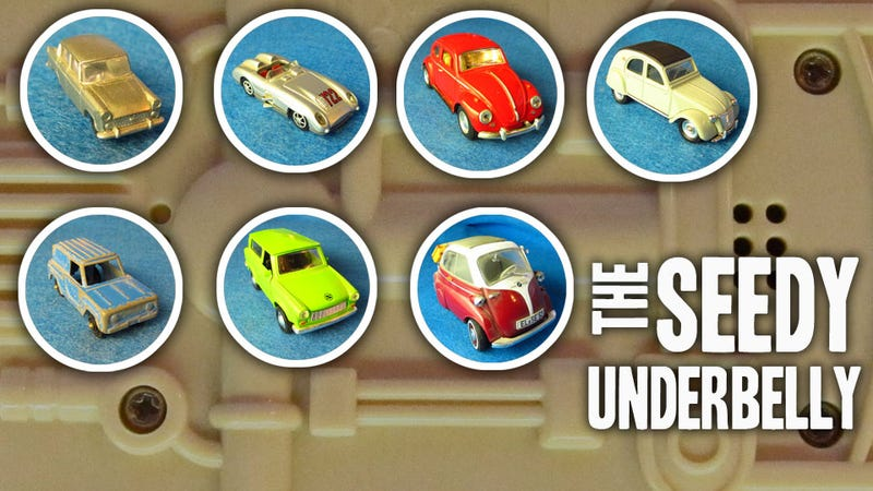The Hidden Beauty Of The Bottom Of Toy Cars