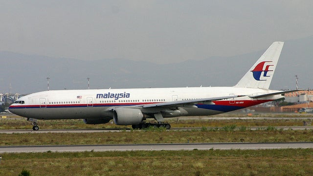 Malaysian Air Flight Carrying 295 Shot Down Over Ukraine