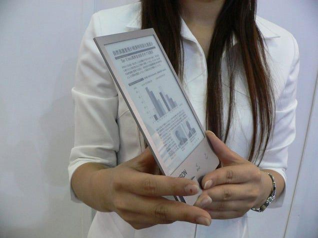 Seiko High-Res Super-Thin EBook Reader