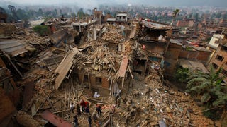 Photos from the devastating 7.8 magnitude earthquake in Nepal