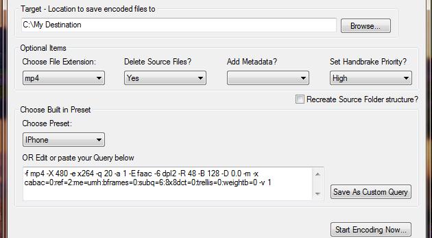 HandBrake Batch Encoder Simplifies Multiple Video Conversions