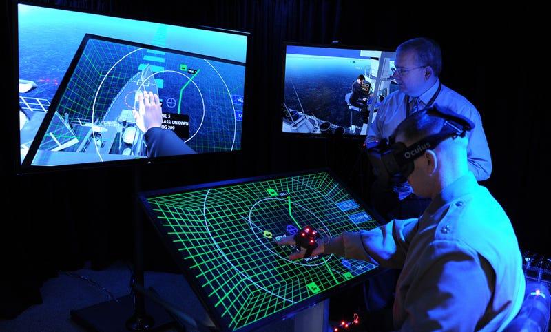 Oh Look, the Navy's Got Itself an Oculus Rift