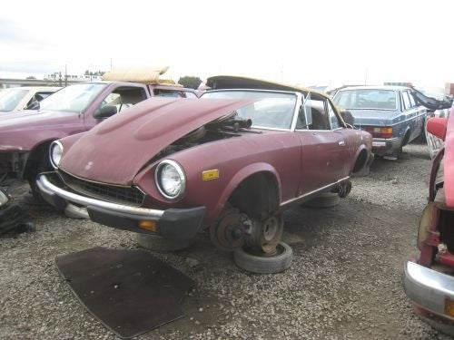 1979 Fiat 124 Spider: Not Fixed Again By Tony