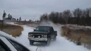 What's Better At Drifting: A Chevy Caprice Or A Pickup Truck?