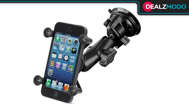 The Military-Grade iPhone Windshield Mount Is Your Dealzmodo-Exclusive Deal of the Day