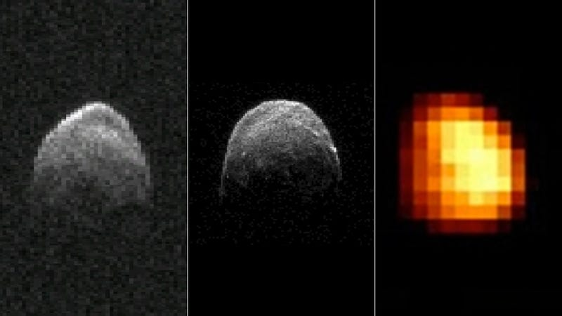 Astronomers release even more images of the asteroid that buzzed Earth