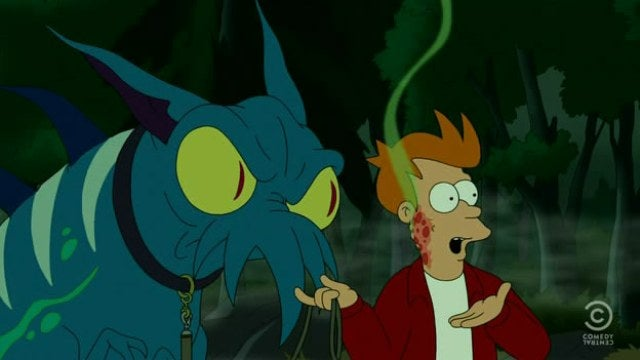 Futurama teaches us why Fry loves being the universe's punching bag