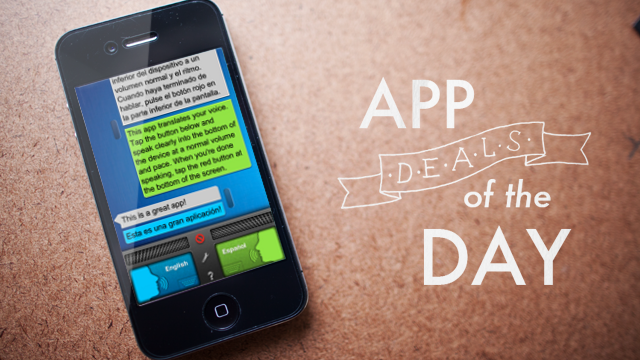 Daily App Deals: Get SayHi Translate for iOS for 99¢ in Today's App Deals