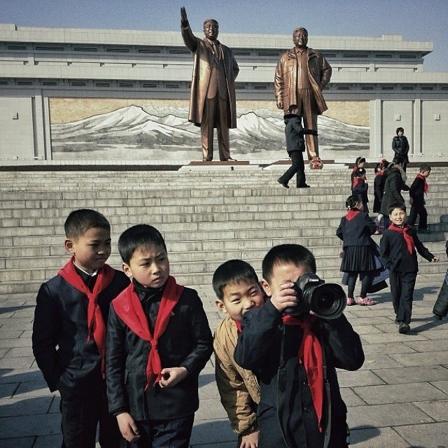 North Korea Doesn't Need Instagram to Look Retro
