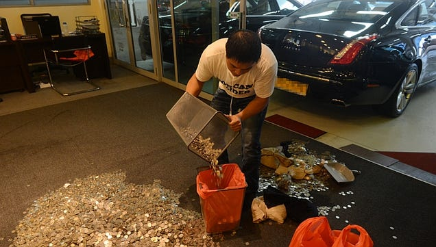 Singapore Man Pays Dealership $19,000 In Coins That Smelled Like Fish