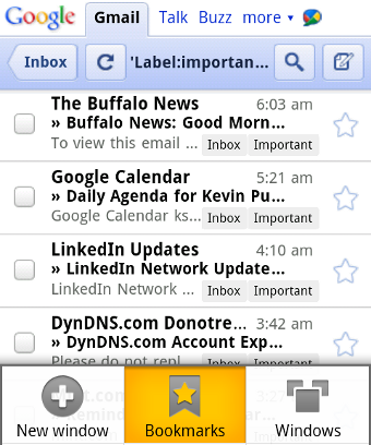 Access Gmail's Priority Inbox on Your Mobile Device