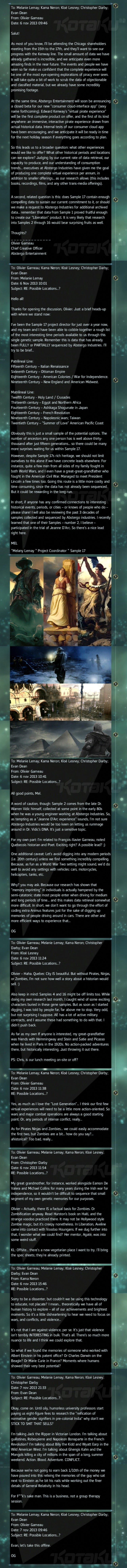 Assassin's Creed's Wild Fake Email: In-Joke or Tease for the Future?