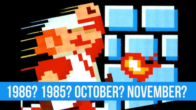 Nobody Knows When the Hell Super Mario Bros. Was Released