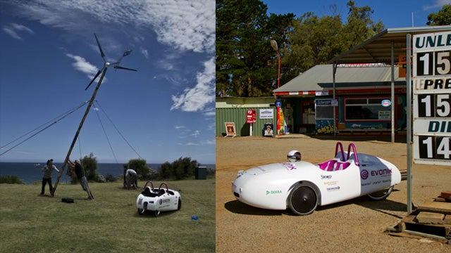 Wind-Powered Electric Eco Car Drives 3,000 Miles on $13 of Electricity