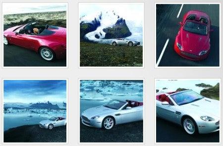 LA Gear: Aston Martin Reveals V8 Vantage Roadster