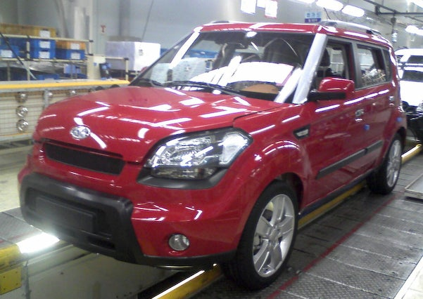 2009 Kia Soul caught in Seoul