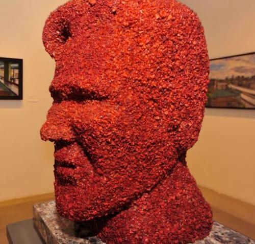 Bacon Kevin Bacon Statue