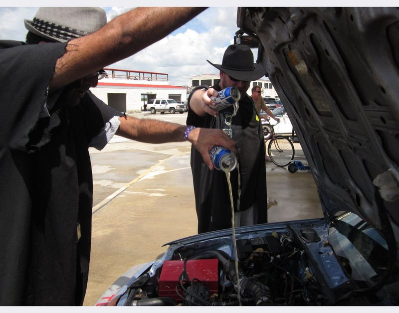 BS Inspection at the Yeehaw It's Texas 24 Hours of LeMons