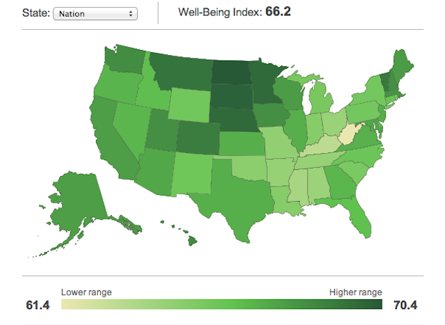 Is your state the most miserable in the nation?