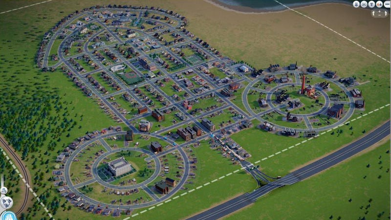 Now That SimCity Has Curved Roads, It Also Can Have...