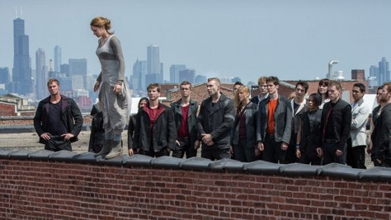First Divergent footage shows the gun-toting teens of the future